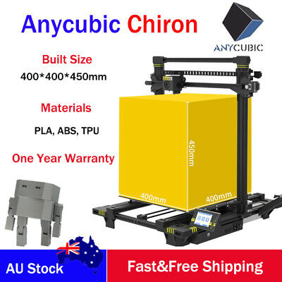 AU Ship ANYCUBIC 3D Printer Auto Leveling Huge Build size 400x400x450mm Printer