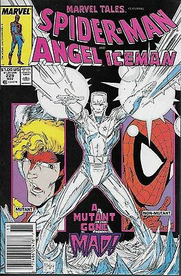 Marvel Tales No.229 1989 Reprints Spectacular Spider-Man 18 Todd McFarlane Cover