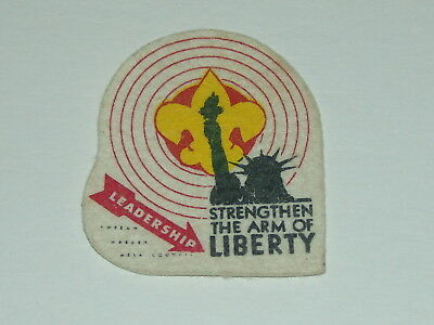Strengthen the Arm of Liberty - Leadership - felt patch