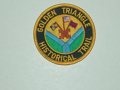 trail patch - Golden Triangle Historical Trail