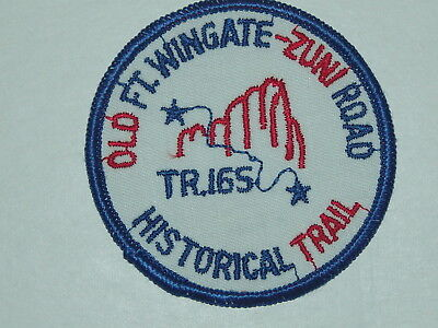 trail patch - Old Ft Wingate - Zuni Road Historical Trail - Tr.165