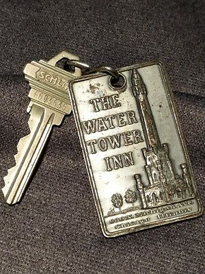 Vintage The Water Tower Inn Chicago, Illinois Hotel Key Fob
