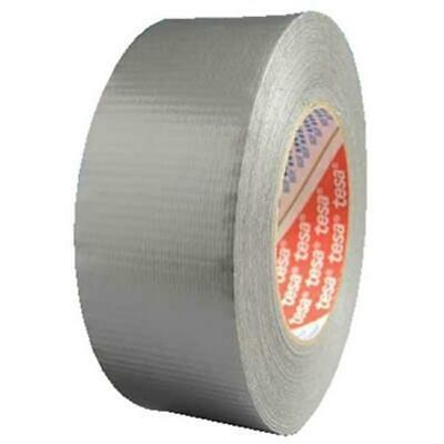 Tesa Tapes 744-64613-09002-00 3 Inchx60Yds Silver Duct Tape Economy Grade