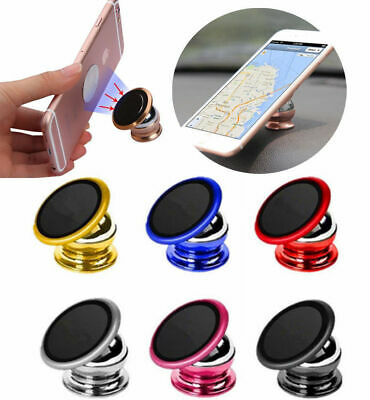 360° Magnetic Car Mount Phone Holder Stand Dashboard For Cellphone GPS Universal