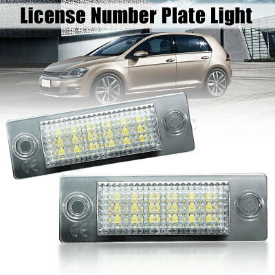 18LED Licence Number Plate Light For VW Transporter T5 Caddy Touran Jetta