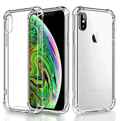 For Apple iPhone X XR XS Max Ultra Thin Rubber Silicone Case Gel TPU Soft Cover