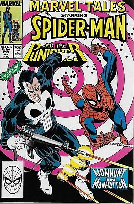 Marvel Tales No.219 / 1989 Reprints The Amazing Spider-Man No.202 / The Punisher