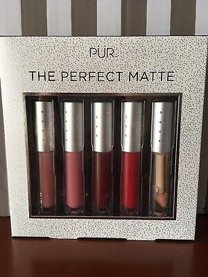 Pur the perfect mate. Lote de labiales mate .
