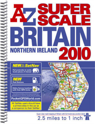 Great Britain Super Scale Road Atlas (A-Z Road Atlas), Geographers A-Z Map Compa