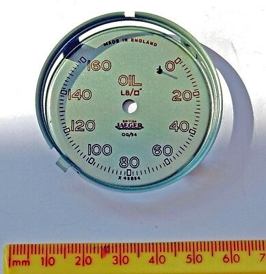 Original British Jaeger 160 psi oil gauge dial  ? for MG TC or TD