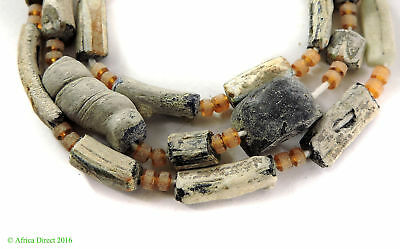 Ancient Roman Glass Fragment Beads Afghanistan SALE WAS $39.00