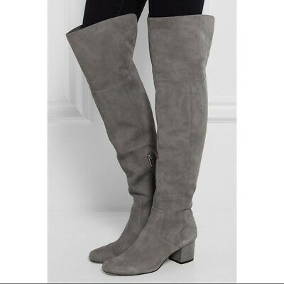 24c36bd800c NEW SAM EDELMAN Elina suede over-the-knee boot