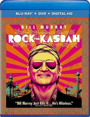 Rock the Kasbah (Blu-ray + DVD) Bill Murray, Kate Hudson, Bruce Willis NEW