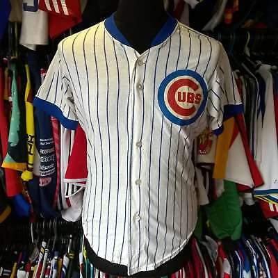 Chicago Cubs 1980S Vintage Mlb Baseball Shirt Rawlings Jersey Size Adult M