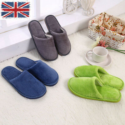 Soft Plush Cotton Cute Slippers Shoes Non-Slip Indoor House Furry Floor Slippers