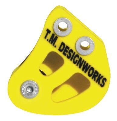 TM Designworks Rear Chain Guide and Powerlip Roller Yellow #RCG-SUZ-YL Suzuki
