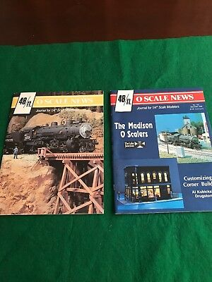 O Scale News Magazines Good Condition (93)