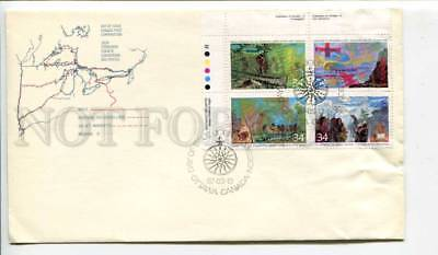 293331 CANADA 1987 year First Day COVER Exploration