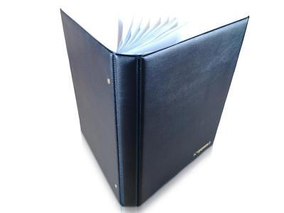 Banknote Album SCHULZ Folder Book Pages Sleeves For Banknotes Collection [Blue]