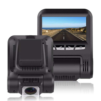 "Car Dash Cam 2.4"" LCD FHD 1080p 170°Wide Angle Dashboard Camera Recorder WiFi, S"