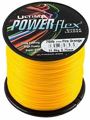 Powerflex High Power Surf Casting Shockleader - Fire Orange,