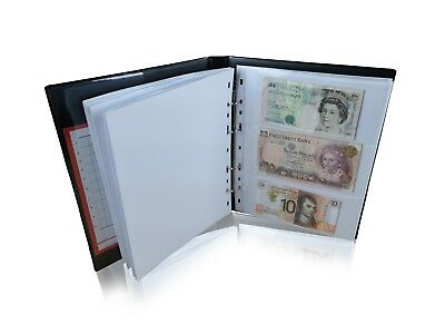 10 Extra Banknote Pages Sleeves For SCHULZ Banknote Albums Collection [MULTI]
