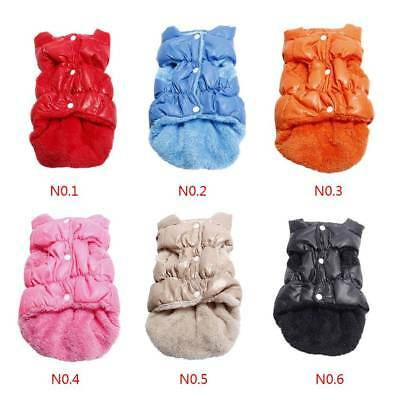 Dog Pet Puppy Winter Padded Waterproof Coat Down Jacket Warm Vest Clothes