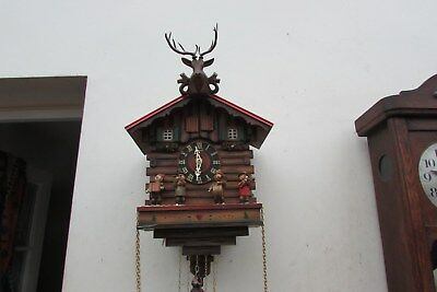 Cuckoo Clock Kuner Bros Black Forrest  with umpah band