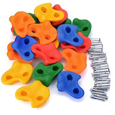 Textured Climbing Holds Rock Wall Indoor/outdoor Playground Set For Kids Childre