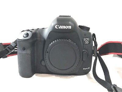 Canon EOS 5D Mark III DSLR Body Camera Low shutter count 9402