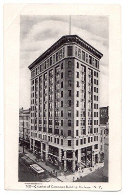 Rochester New York c1905 Chamber of Commerce Building, demolished 1980