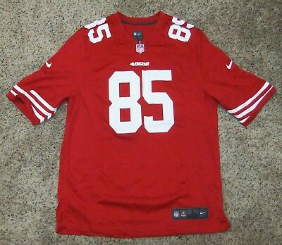 628f97eb815 NIKE SAN FRANCISCO 49Ers On Field Stitched Vernon Davis Nfl Womens ...