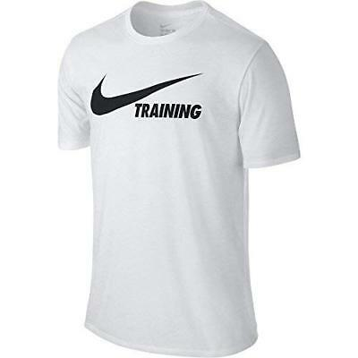 Large Training Eur Whitewhiteblack Shirt Swoosh Nike Men T 2x Tx1qPS