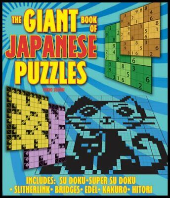 The Giant Book of Japanese Puzzles: Includes Sudok... by Suzuki, Yukio Paperback