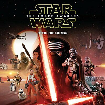 Official Star Wars Episode 7 Movie 2016 Calendar (Square Wall Calen... by Danilo