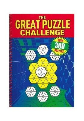 The Great Puzzle Challenge Book The Cheap Fast Free Post