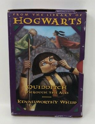 Library of Hogwarts HB Boxed set FANTASTIC BEASTS Quidditch Harry Potter VGC