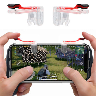Gaming Trigger Cell Phone Game PUBG Controller Gamepad for Android IOS System BS