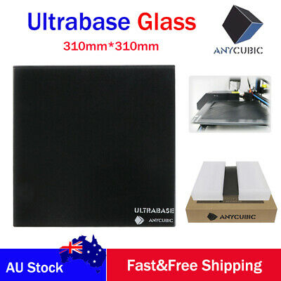 AU ANYCUBIC Ultrabase 310x310mm 3D Printer Platform Heatbed Surface Glass Plate