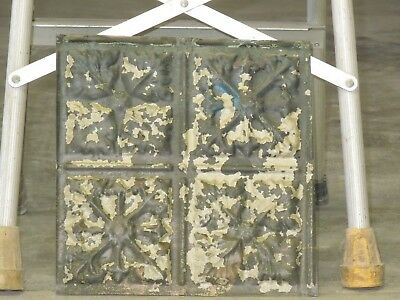 Old Antique ( Metal )  tin ceiling tile  / tiles 12x12