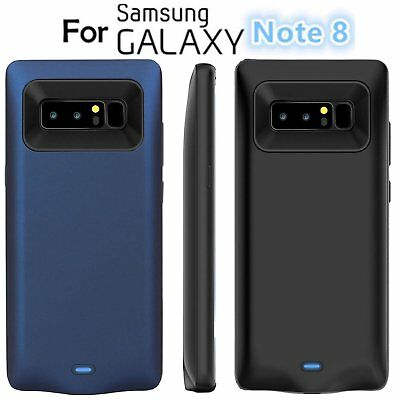 External Slim 8000mAh Battery Power Bank Charging Case For Samsung Galaxy Note 8