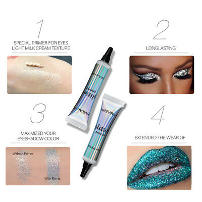 Multifunction Glitter Eyeshadow Primer Face Glue Cream Makeup Eye Beauty Acces