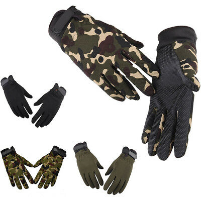 Men Women Anti-Slip Climbing Tactical Glove Stretch Mitten Ridding Sports Glove