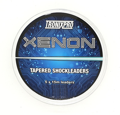 TronixPro Xenon Tapered Shock Leaders Clear