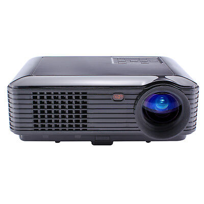 LCD Home Theater Projector 5000 lm Support 1080P (1920x1080) 50-250 inch Screen