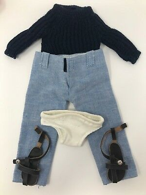 VTG Clothes for Sasha Doll Jeans Outfit 212 Trendon