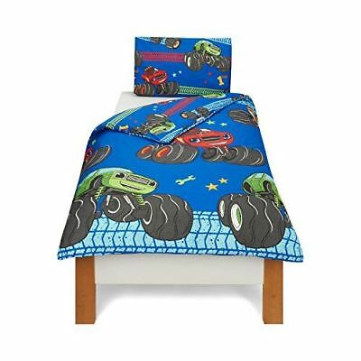 Blaze And The Monster Machines 'Vroom' Reversible Rotary Single Bed Duvet Quilt