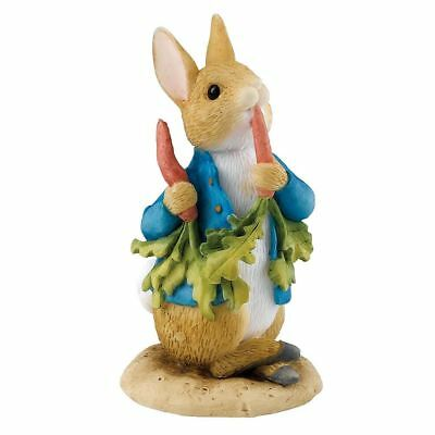 Official Beatrix Potter Peter Rabbit Ate Some Radishes Mini Figurine Ornament