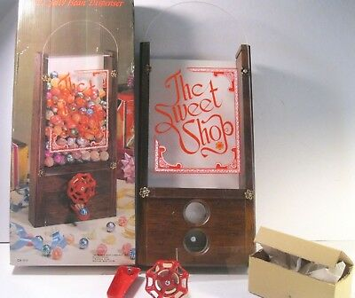 Jelly Bean Dispenser The Sweet Shop Retro Complete Unused With Original Box