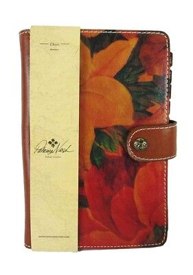 PATRICIA NASH  HERITAGE Chieti  Italian Leather Agenda 2018 Msrp $69.99